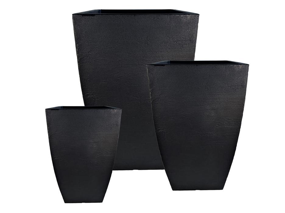 120-JVQMKITL-JP_Modern Square Planter Set_Black